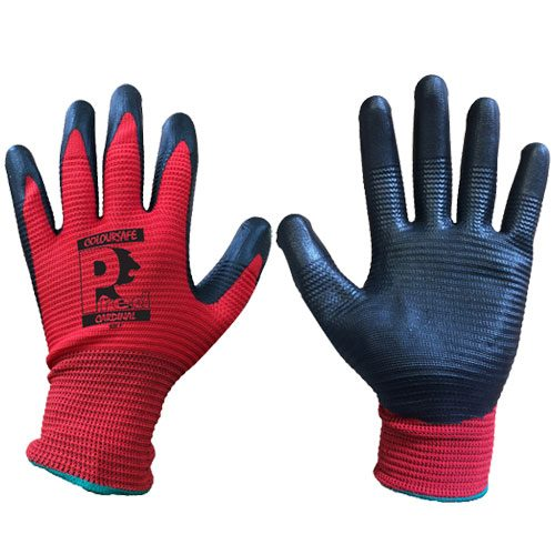 Predator Cardinal Nitrile Foam Gloves by Ron