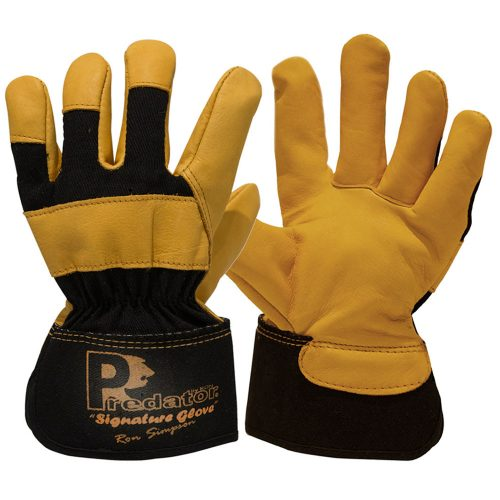 Predator Cow Hide Rigger Gloves by Ron