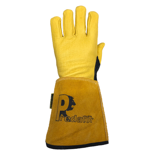 Predator Deerskin Tig Gauntlet Gloves by Ron