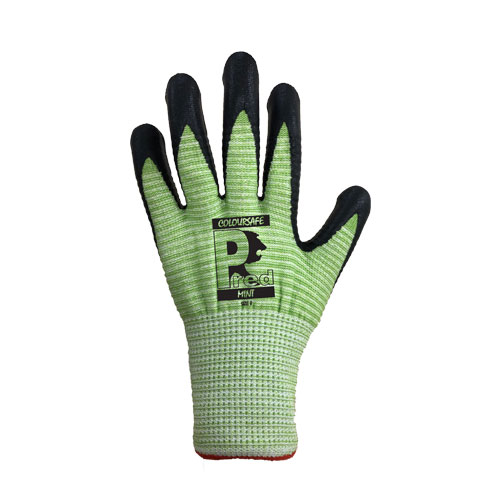 Predator Mint Nitrile Foam Gloves by Ron