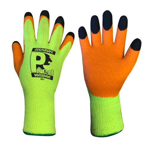 Predator Winter Paws Latex Gloves by Ron