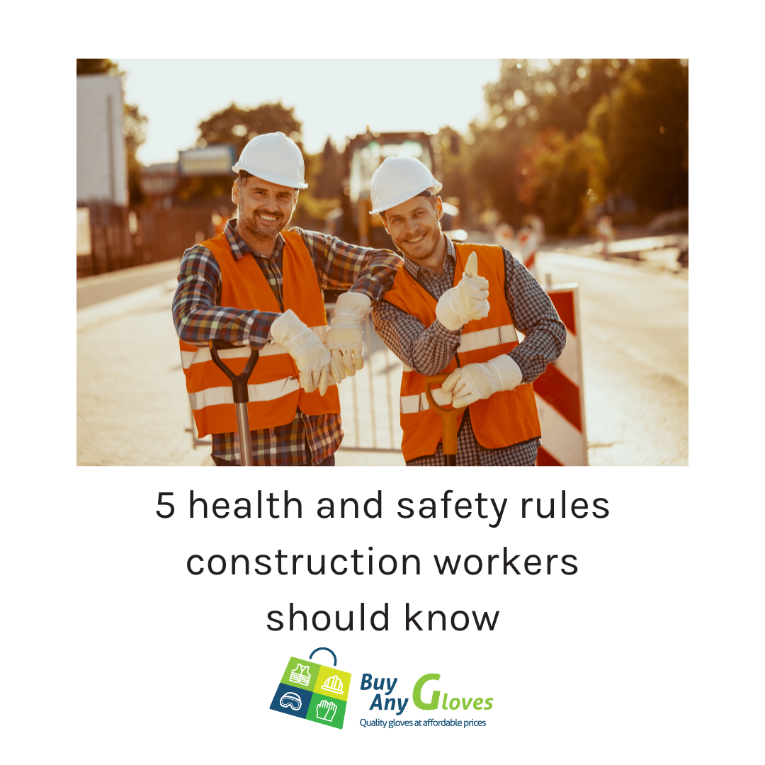 5 health and safey tips for construction