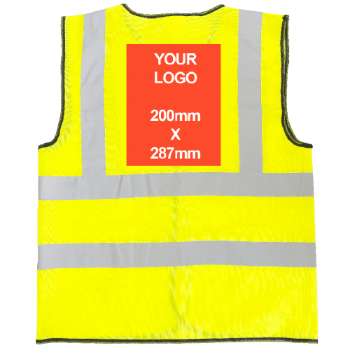 Personalised Hi-Vis Vest